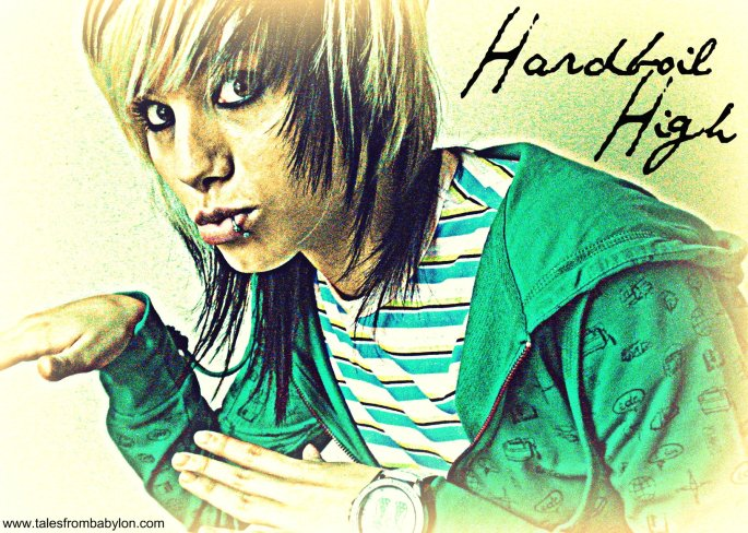 cover image for Hardboil High